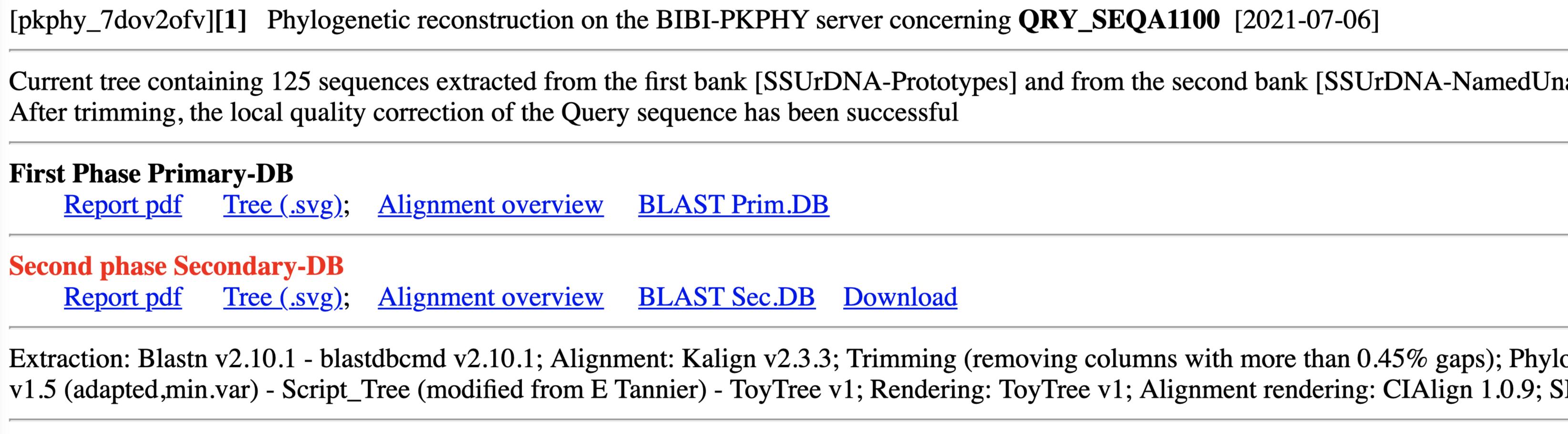BIBI IV optimized session